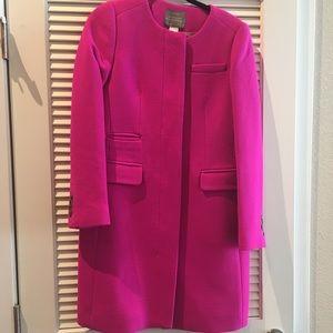 J.Crew Double Cloth Coat